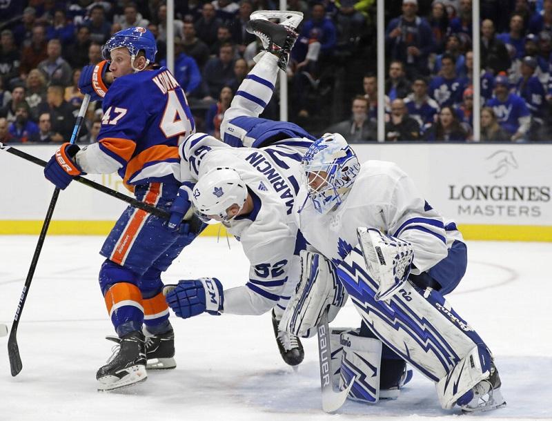 Islanders spoil Tavares' return to NY in 6-1 win over Leafs