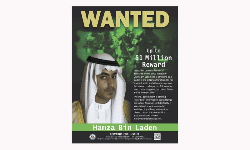 Saudi Arabia revokes citizenship of Hamza bin Laden