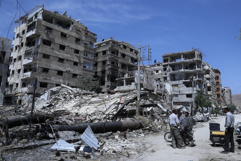 Chemical weapons watchdog says chlorine was used in Douma