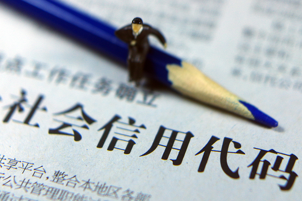 China to further improve social credit system