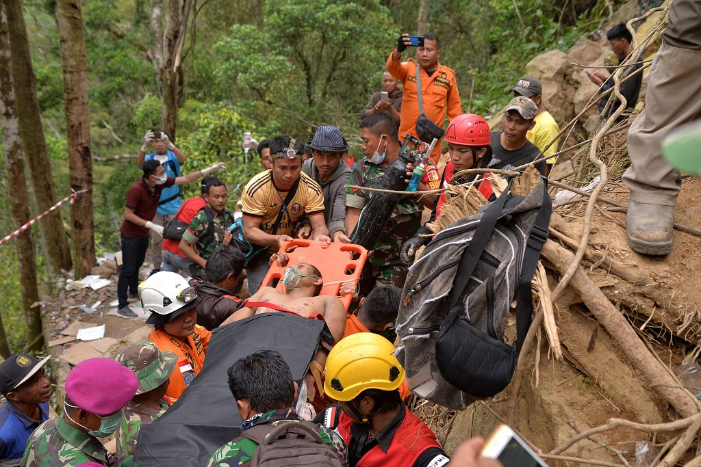 9 miners killed in Indonesia mine collapse as further landslide threat hampers rescue mission