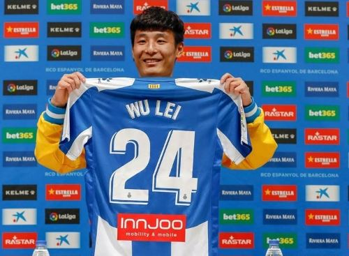 Wu Lei first Chinese player to score in Spain's LaLiga