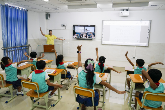 Popularity of online education grows rapidly in China