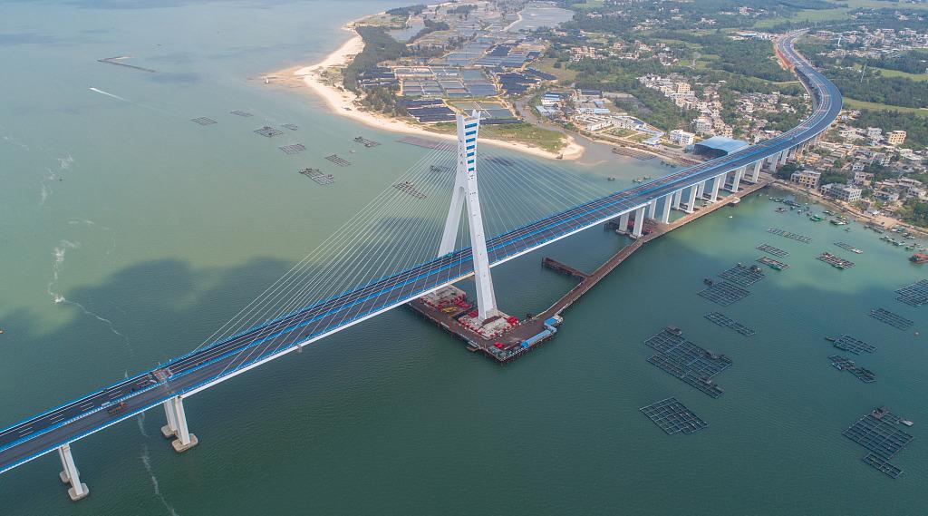 Hainan's Puqian Bridge set to open to traffic