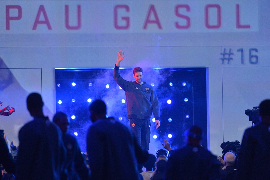 Spanish star big man Gasol thrilled to join NBA Bucks