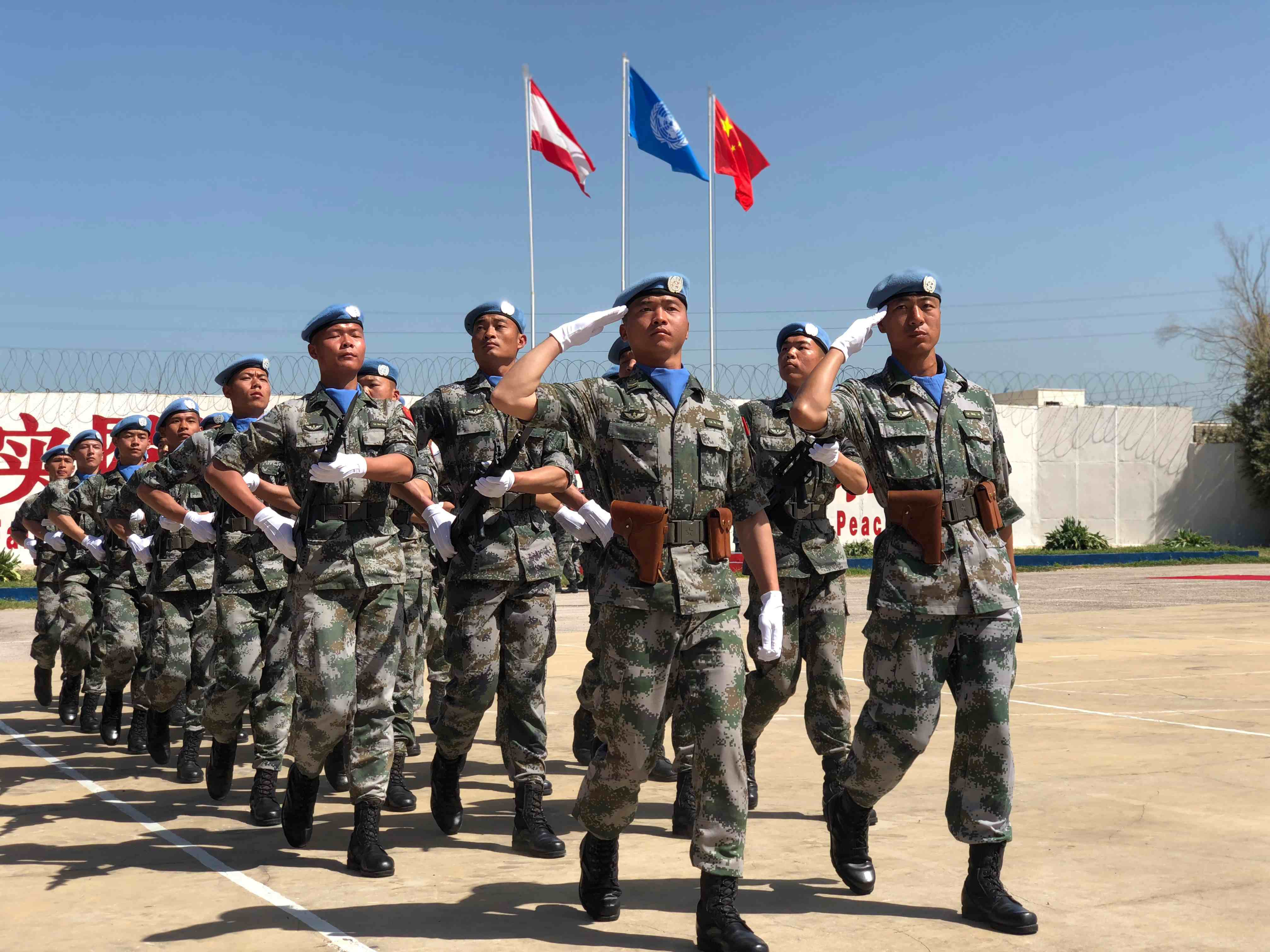 China vows to continue support for Lebanon's military