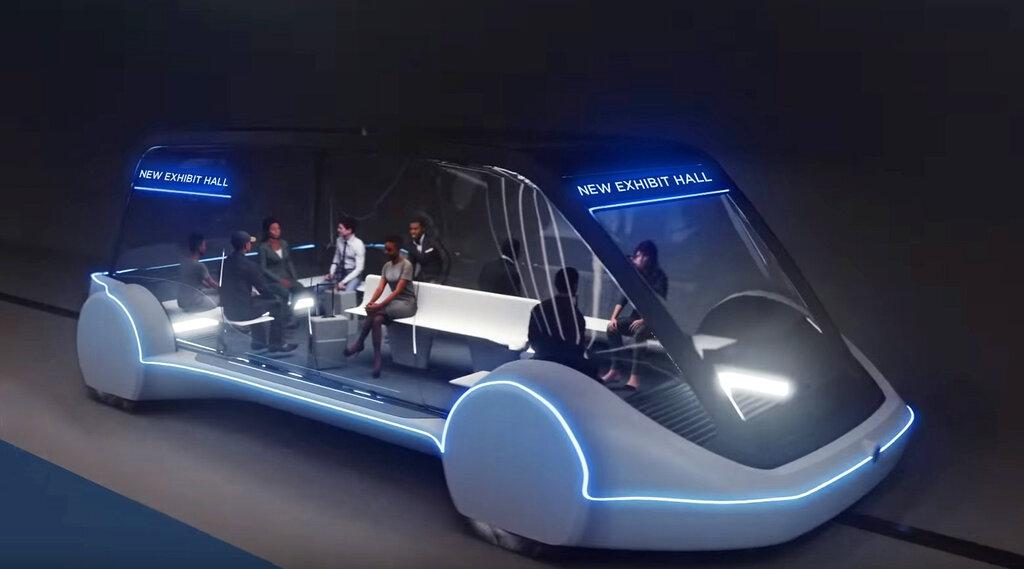 Las Vegas bets on Elon Musk for tunnel transit system