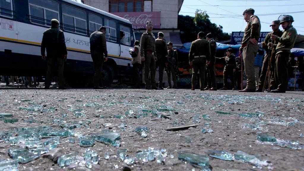 One killed, 33 wounded in blast inside bus station in Kashmir