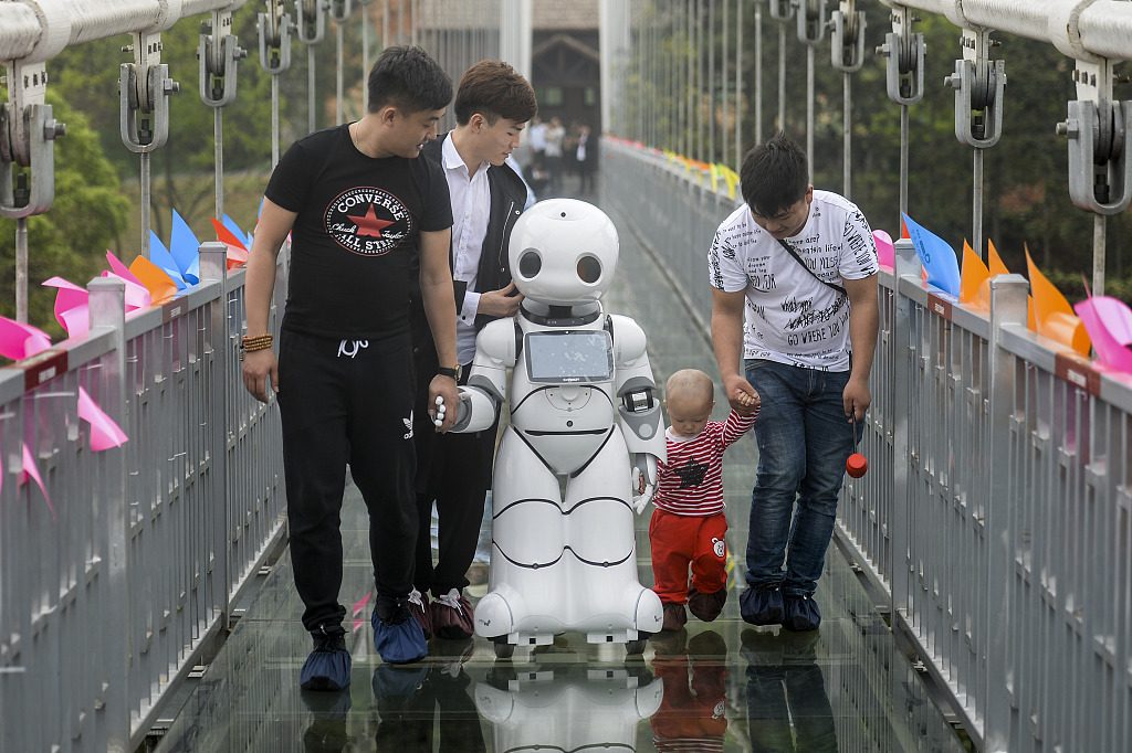 Robot tour guides introduced in ancient Chinese city