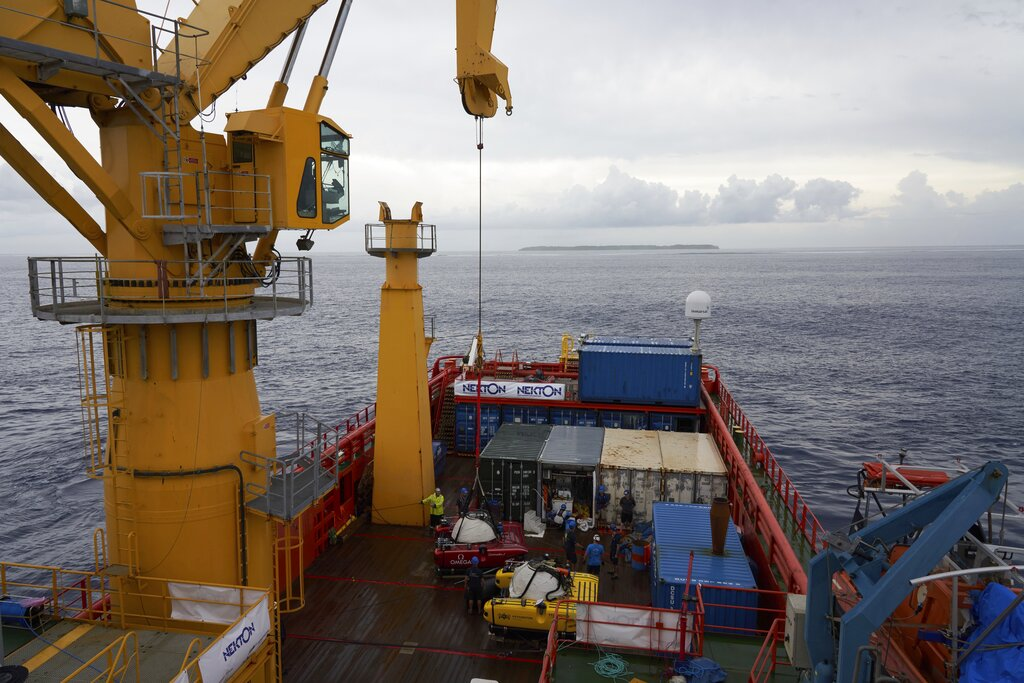 Scientists begin exploring Indian Ocean depths in Seychelles