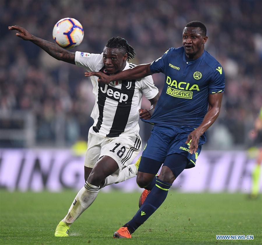 Juventus beats Udinese 4-1 at Serie A soccer match