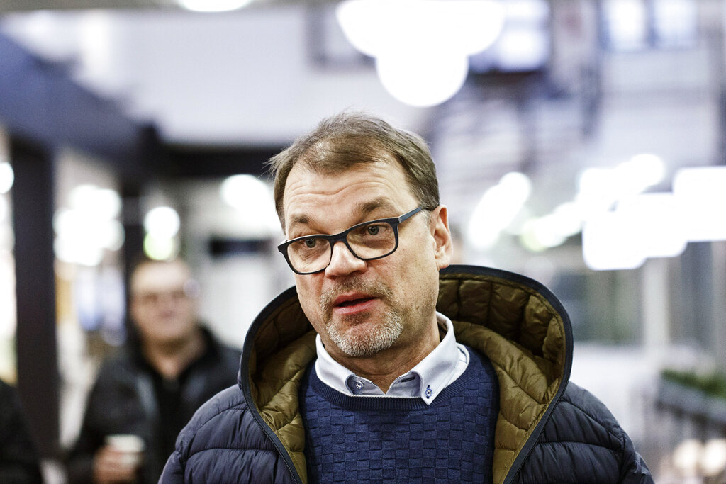 Finland's outgoing premier may bow out as party chair