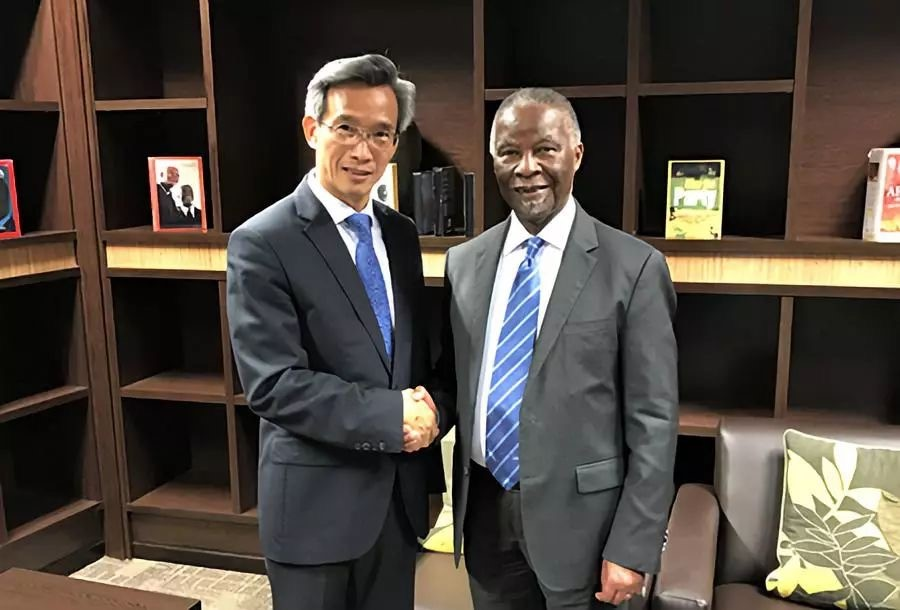 Cooperation benefits China and South Africa: Mbeki