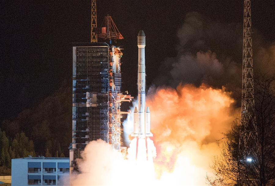 China launches new communication satellite