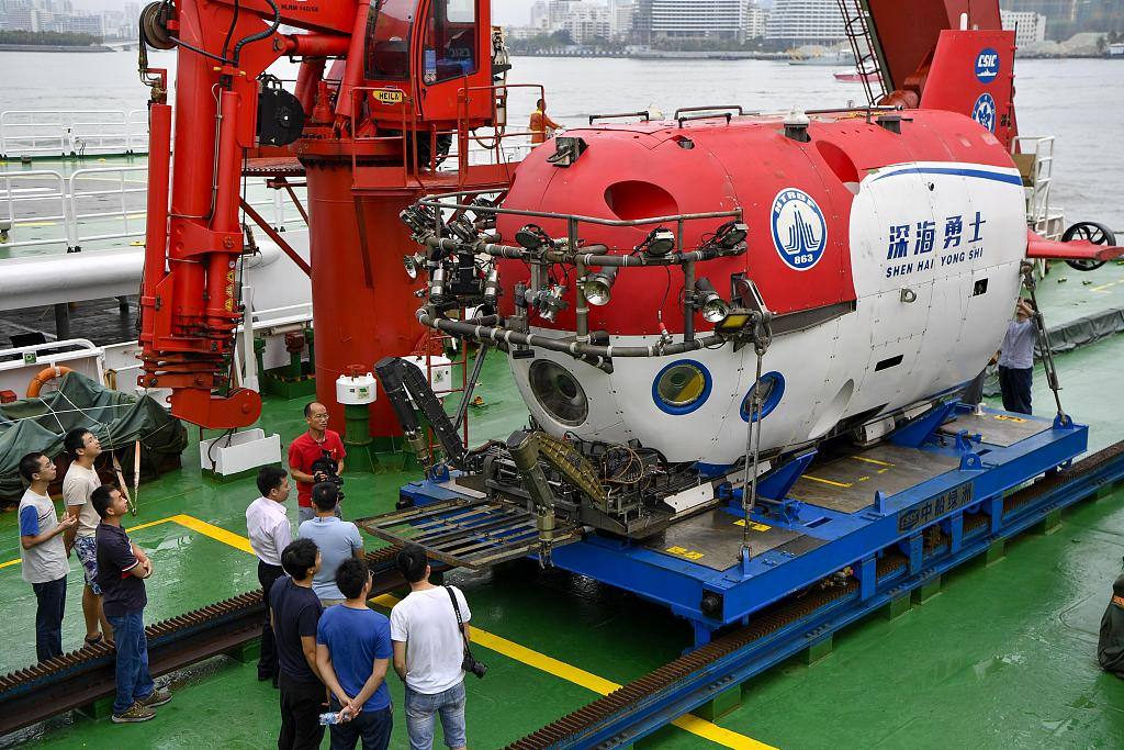 Chinese archaeologists sail back, refreshing records of China's manned dives