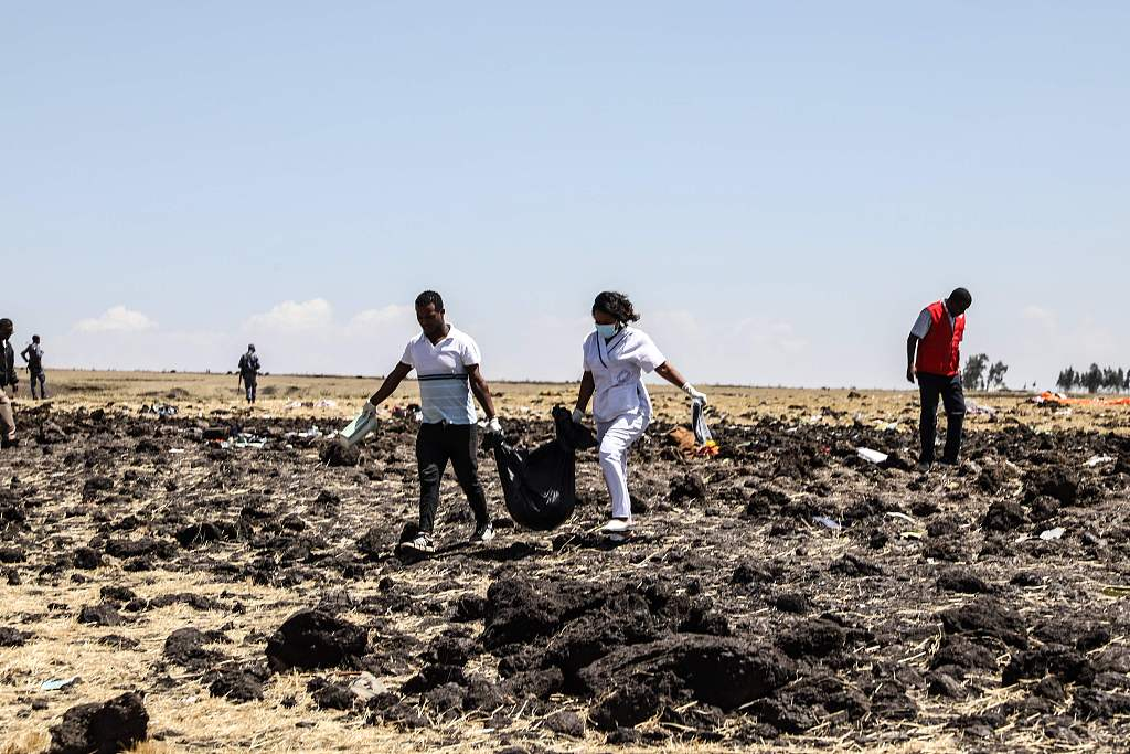 Ethiopian Airlines plane crashes en-route to Nairobi with 157 people on board