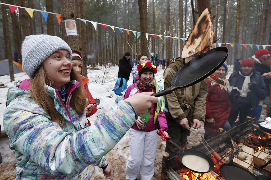 Maslenitsa celebrations bid farewell to winter