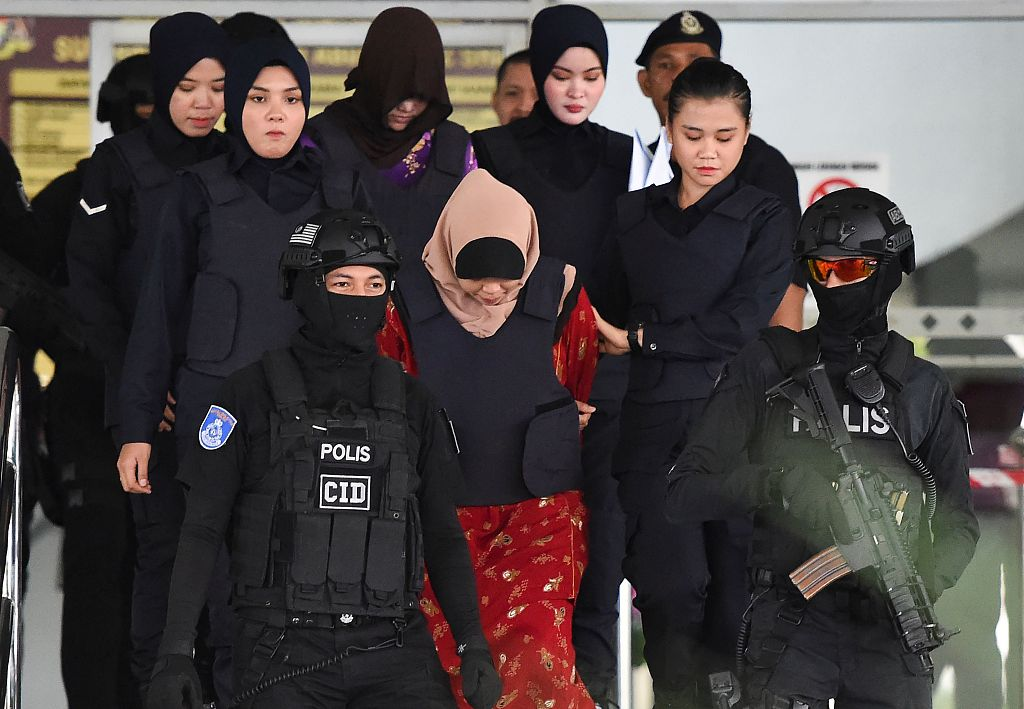 Malaysia releases Indonesian woman after dropping charge for murdering DPRK man