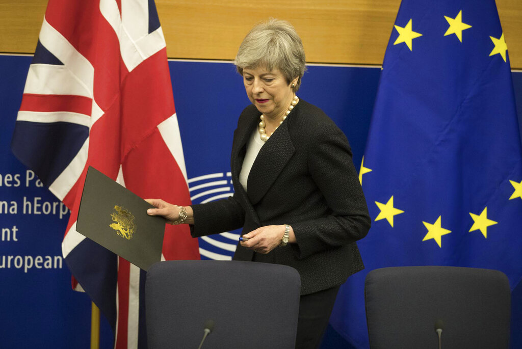 UK prime minister set to put her EU divorce deal to the test