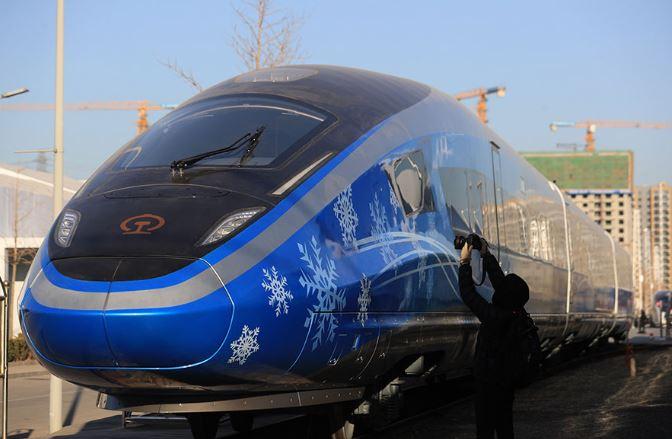 Beijing-Zhangjiakou railway construction on track