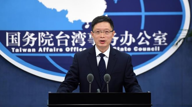 China opposes any official contact between US and Taiwan