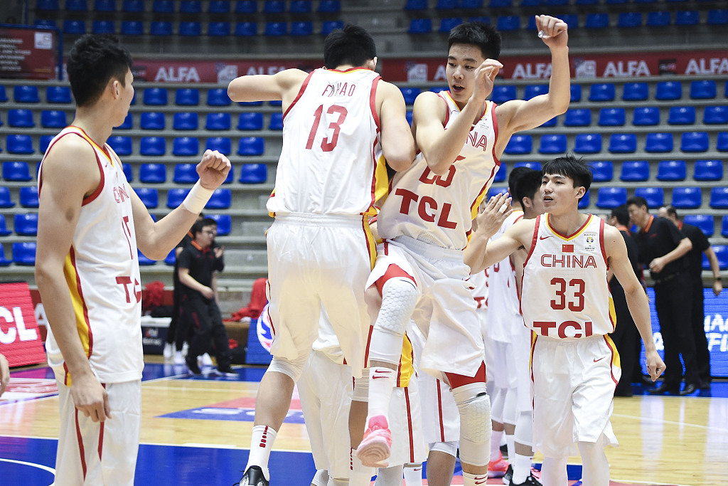 Chinese men's basketball team aims to qualify for Tokyo Olympic Games