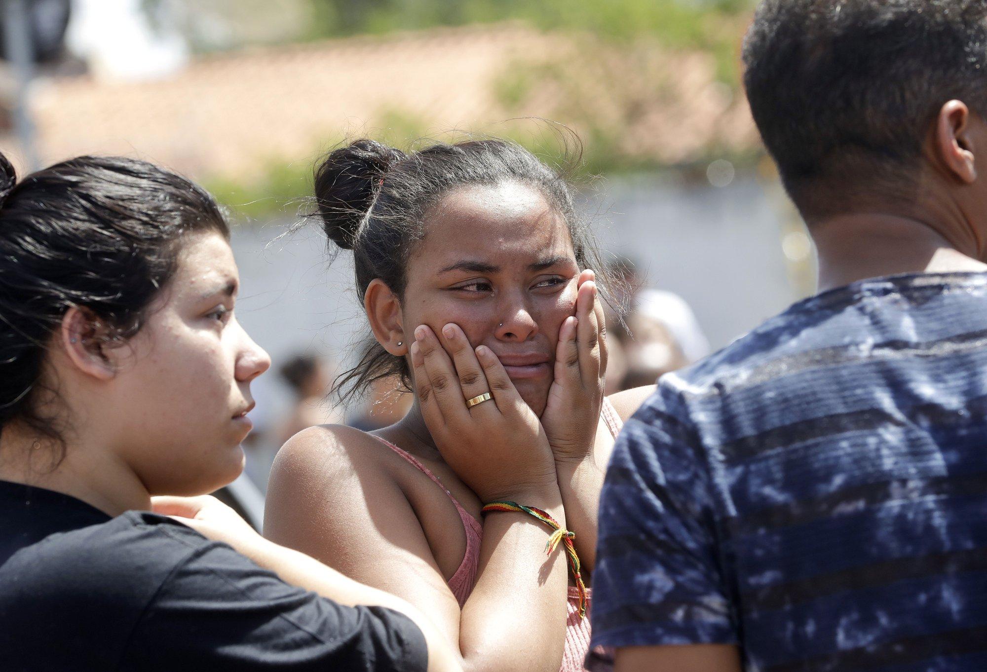 Ex-students attack school in Brazil, 8 dead