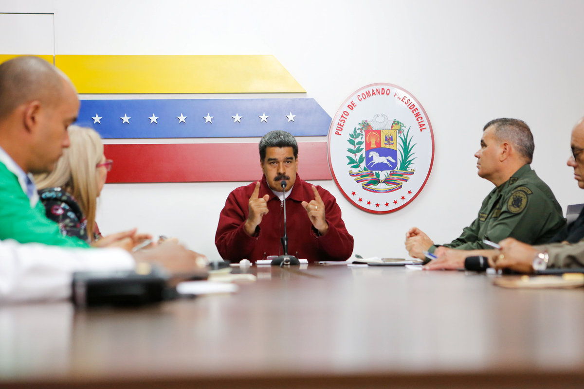 Maduro declares victory as electricity is restored