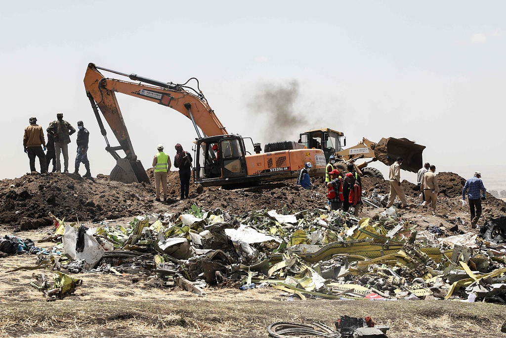 Ethiopian Airlines says 'has flown' black boxes of crashed Boeing to Paris
