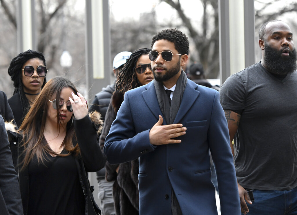 Jussie Smollett pleads not guilty to lying about attack