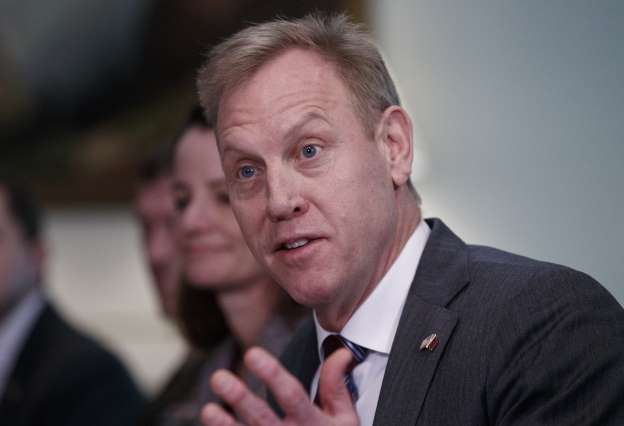 Acting Pentagon chief says IS territory nearly cleared