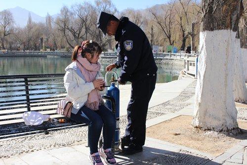 CCTV system, 24-hour patrols make Tibet much safer