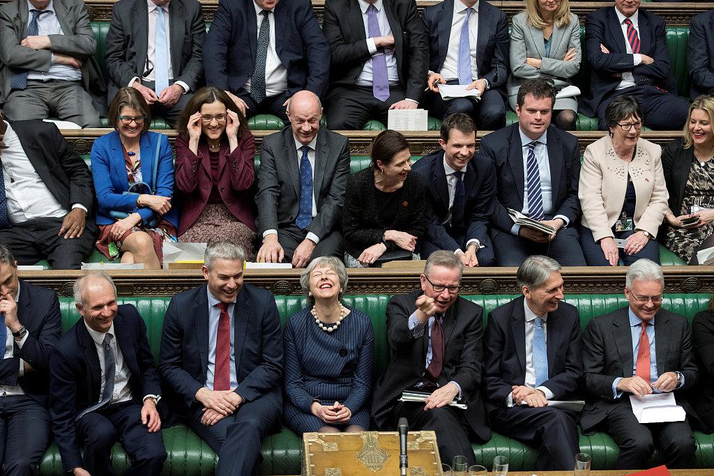 British parliament backs Brexit delay