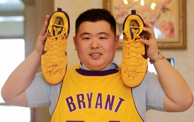 Chinese Kobe Bryant fan amasses huge collection of signed memorabilia