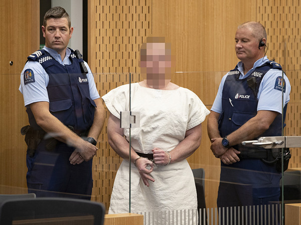 Terror suspect in New Zealand mosques attack appears in court