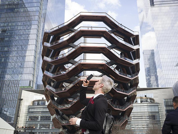 'Vessel' – New York's latest architectural marvel