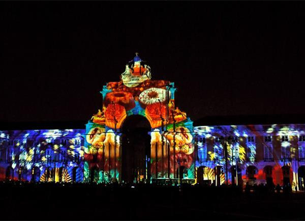 Light sculpture show held in Lisbon to show Macao's history, city development
