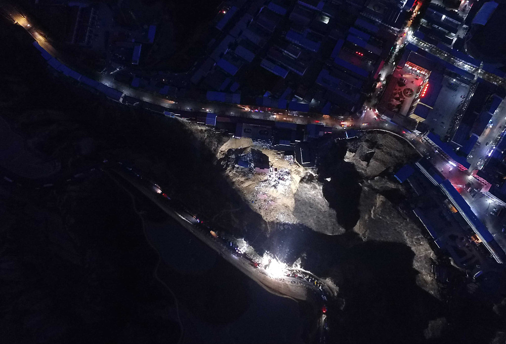 Rescuers race to find landslide survivors in N China's Shanxi