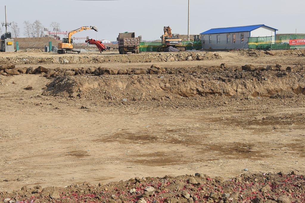 Construction starts on customs facility for Heilongjiang-Russia bridge