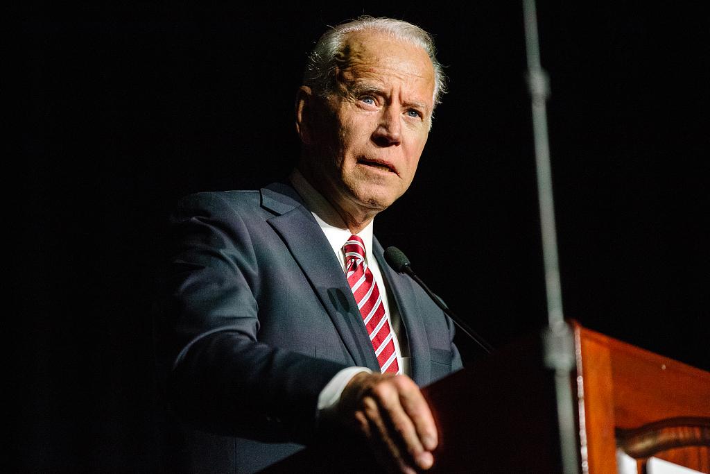 Biden's verbal slip about campaign draws Democrats' cheers