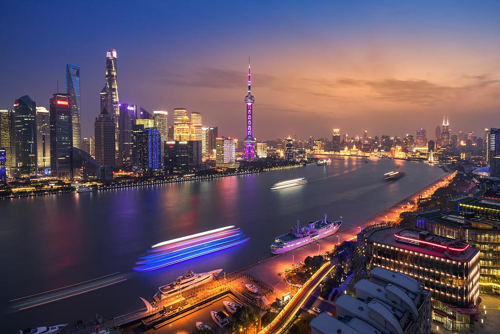 Shanghai in No.5 spot among financial hubs