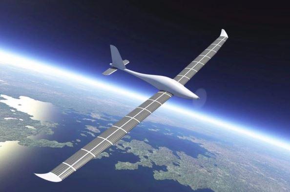 Solar-driven drone under development