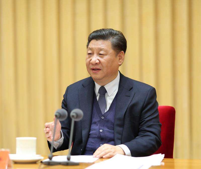 Xi presides over symposium for teachers of ideological, political theory