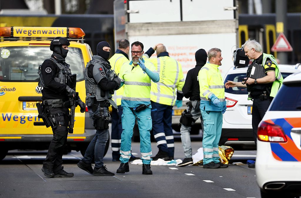 Police say several injured in shooting in Dutch city of Utrecht
