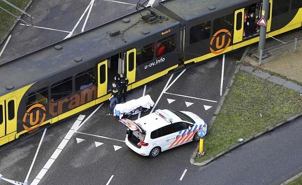 Three confirmed dead in Dutch tram shooting