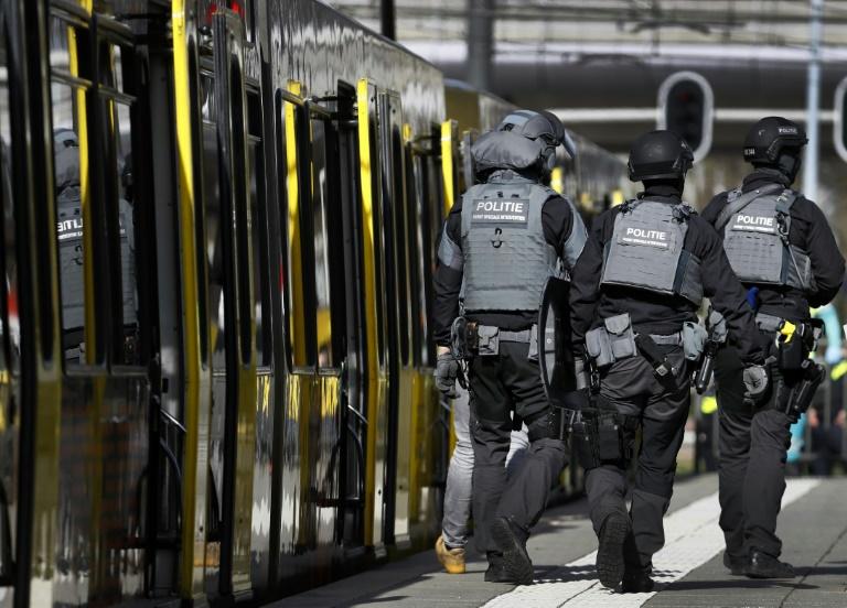 Manhunt after three dead in Dutch tram 'terror attack'