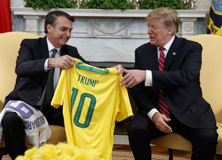 Trump may offer non-NATO privileges to Brazil