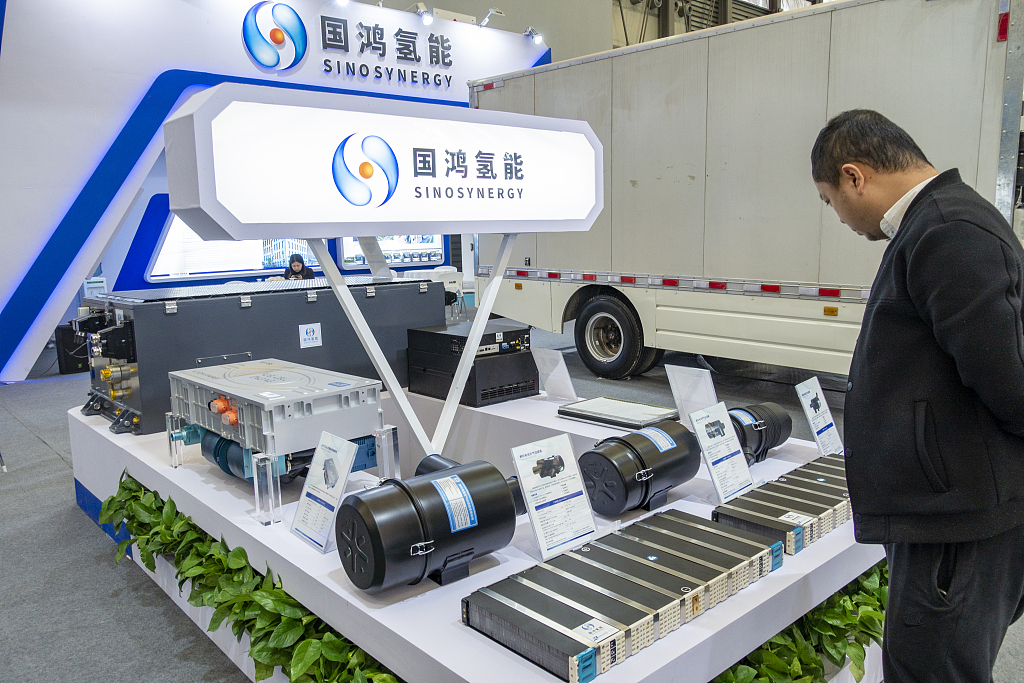 Chinese firms pushing forward hydrogen industry drive
