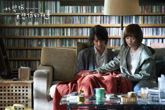 """Romantic film """"More than Blue"""" tops China's box office"""
