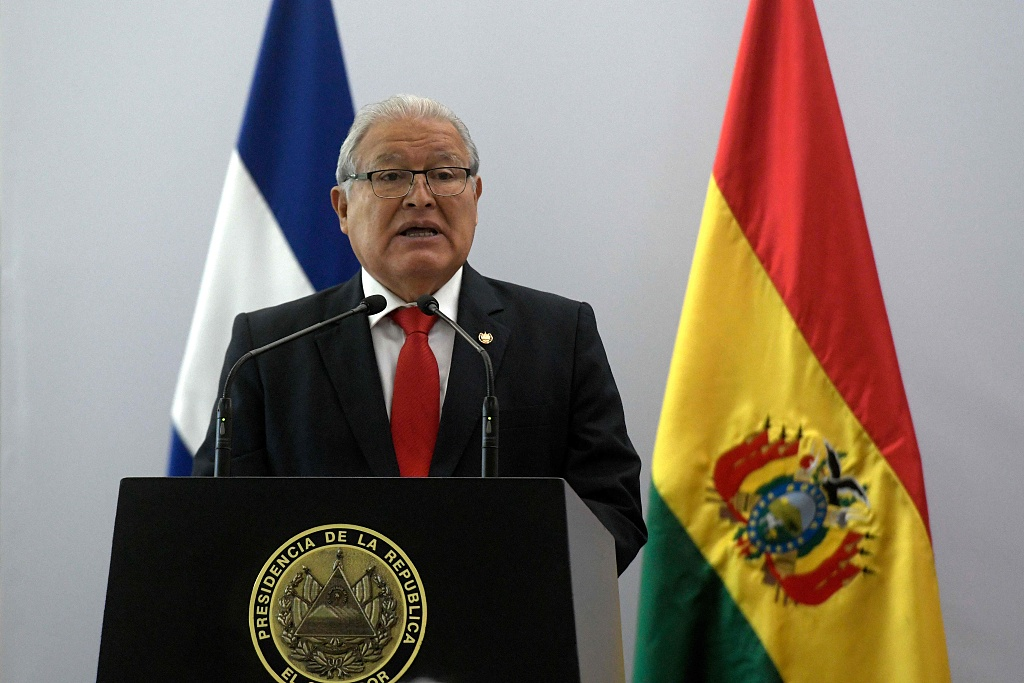 El Salvadoran president highlights developing relationship with China